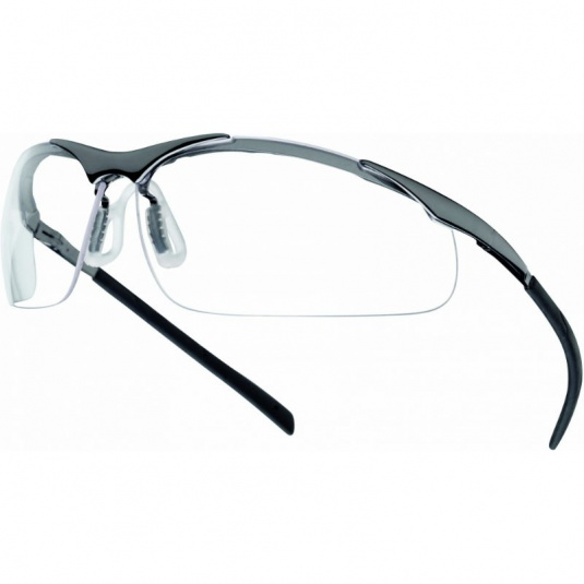 Bollé Contour Metal Clear Panoramic Safety Glasses CONTMPSI