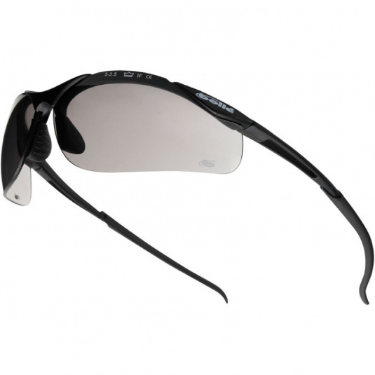 Bollé Contour Smoke Lens Panoramic Safety Glasses CONTPSF