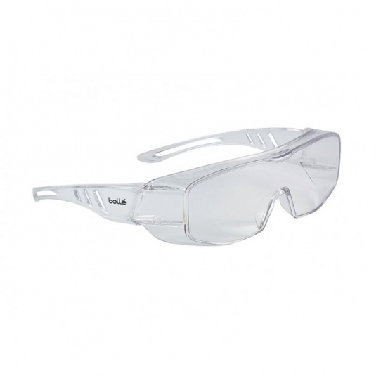 Bollé Overlight OTG Clear Lens Safety Glasses OVLITLPSI