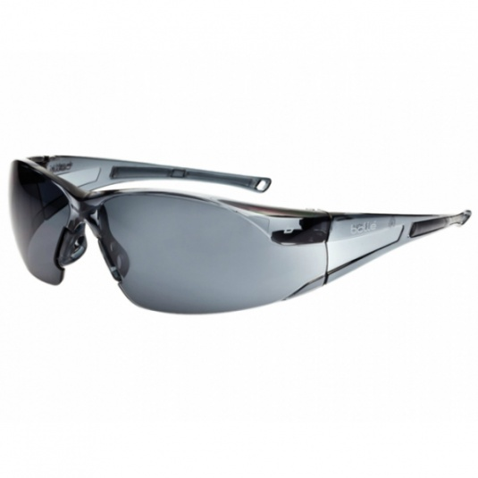 Bollé Rush Smoke Lens Safety Glasses RUSHPSF
