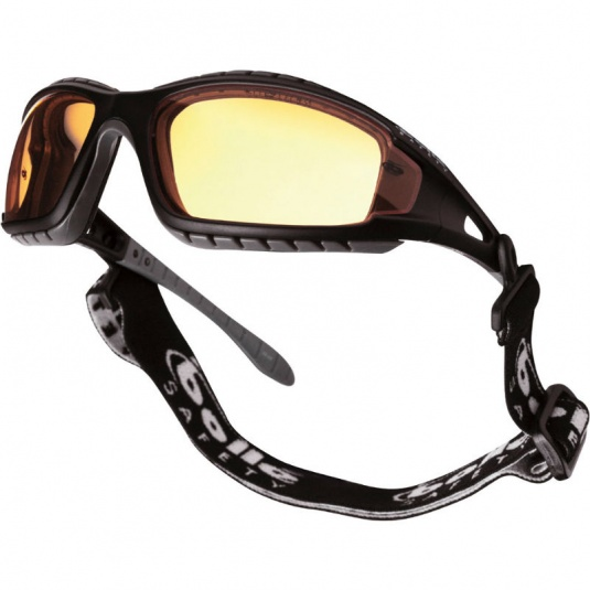 Bollé Tracker Yellow Safety Glasses TRACPSJ