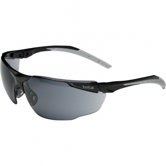 Bollé Universal Smoke Lens Safety Glasses UNIPSF