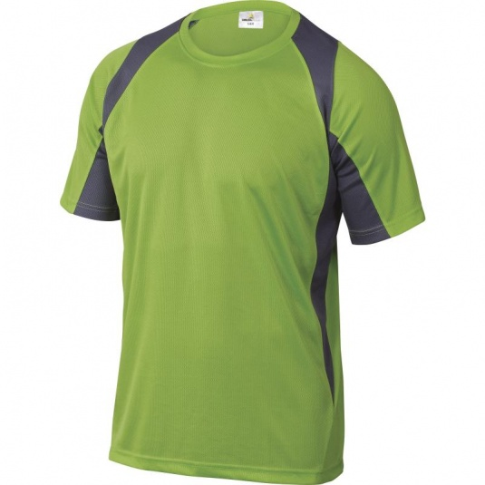 Delta Plus BALI Polyester Green and Grey T-Shirt