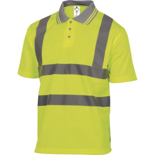Delta Plus OFFSHORE Hi-Vis Yellow Polo