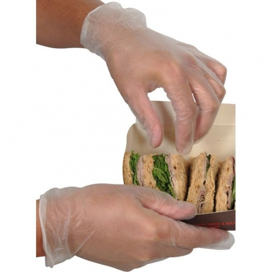 UCi Powder-Free Vinyl Food Use Disposable Gloves