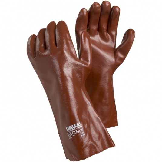 Ejendals Tegera 10PG PVC Chemical-Resistant Extra Long Gauntlets