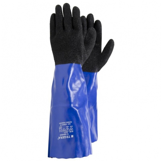 Ejendals Tegera 12945 Heavy-Duty Chemical-Resistant Gauntlets