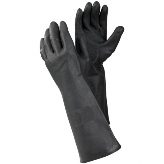 Ejendals Tegera 241 Latex Chemical-Resistant Gauntlets