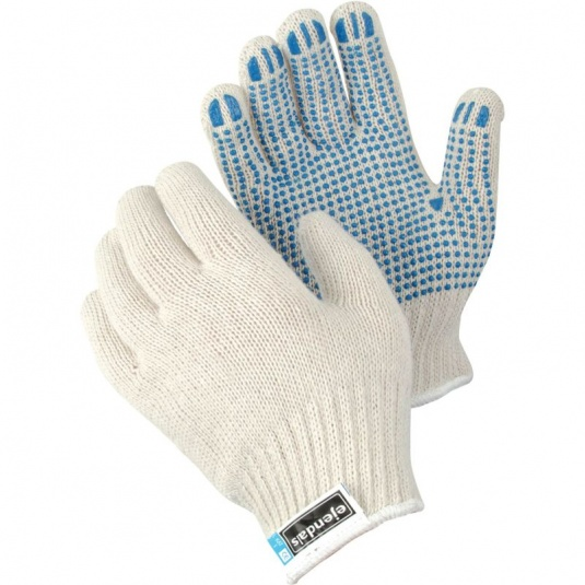 Ejendals Tegera 4630 PVC Dot Grip Cotton Gloves