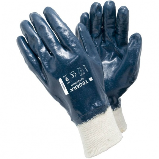 Ejendals Tegera 747 Fully Dipped Nitrile Assembly Gloves