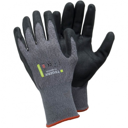 Ejendals Tegera 873 Nitrile Foam Palm-Coated Gloves