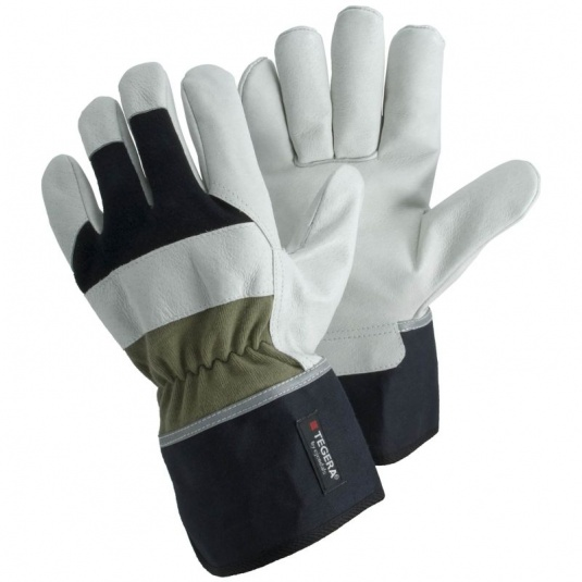 Ejendals Tegera 90035 Leather Gloves with Safety Cuff