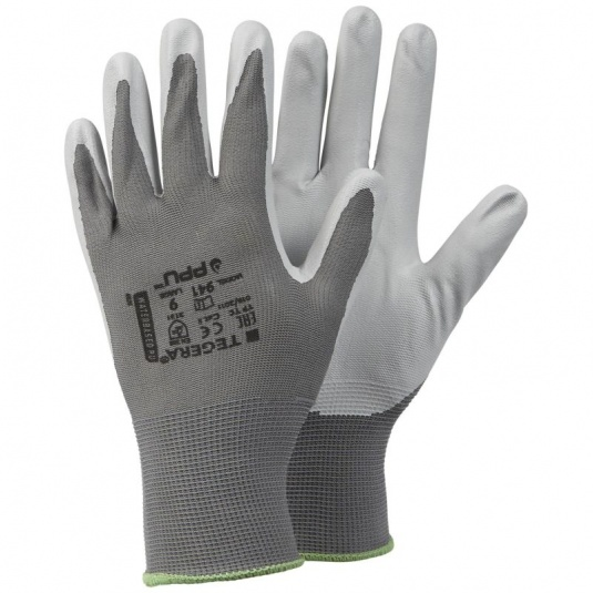 Ejendals Tegera 941 Palm-Dipped Oil-Repellent Assembly Gloves