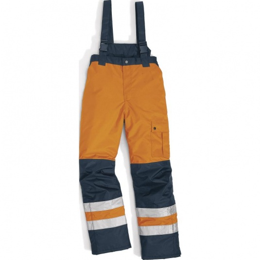 Delta Plus FARGOHV Hi-Vis Orange Waterproof Trousers