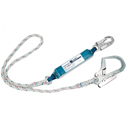 Portwest FP23 Single Lanyard with Shock Absorber