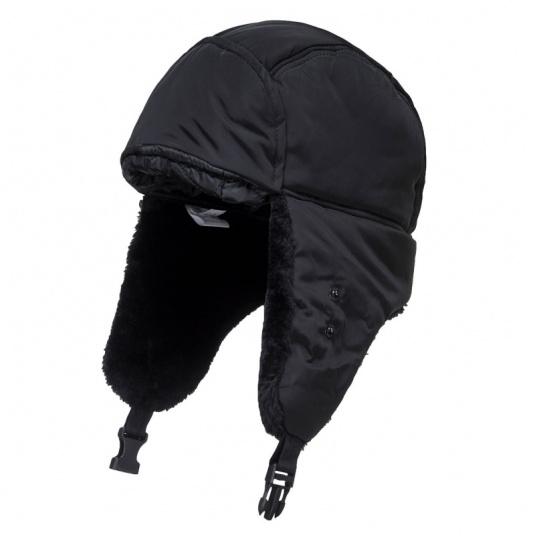 Portwest HA13 Black Winter Trapper Cap