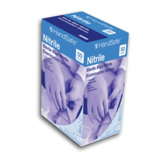 Hand Safe GS690 Sterile Nitrile Medical Use Disposable Gloves