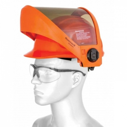Honeywell Hard Hat with 12cal Fixed Face PrismShield Visor