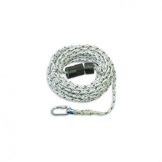 Honeywell 1002895 50m Polyamide Rope with Counterweight and Carabiner