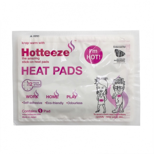 Hotteeze Self-Adhesive Heat Pad for Back Pain