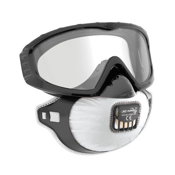 SP FFP3 Filterspec Pro Goggles with Valve