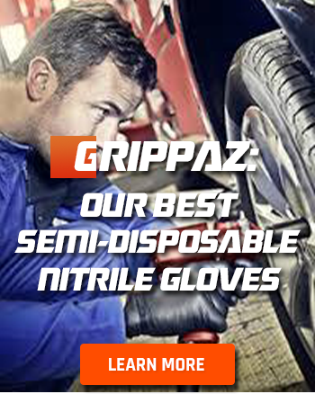 View Grippaz: Semi-Reusable Disposable Gloves