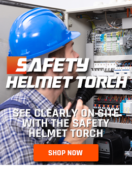 Buy Your Safety Helmet Connecting High Power Torch!