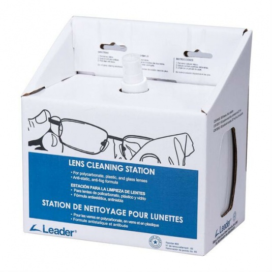 Leader Lens Cleaning Station