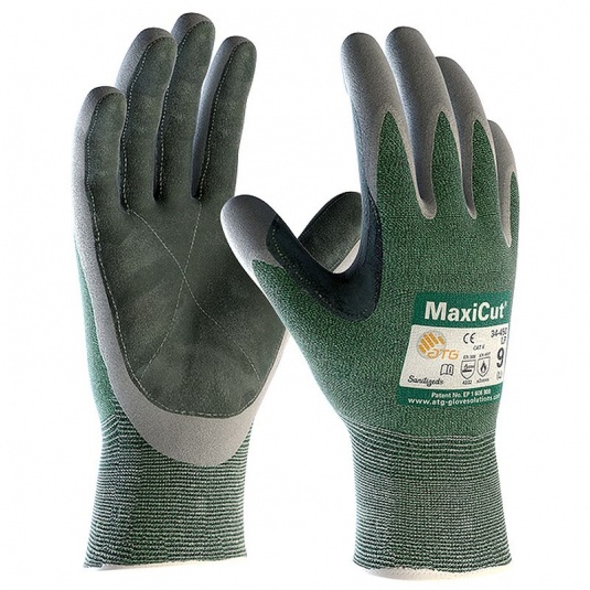 MaxiCut Oil Resistant Palm Coated Heat Gloves 34-450LP