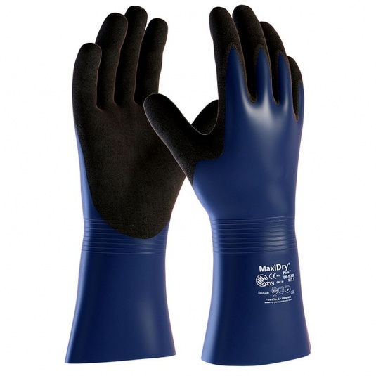 MaxiChem Cut Resistant Level 3 Oil-Resistant Gauntlets 56-633