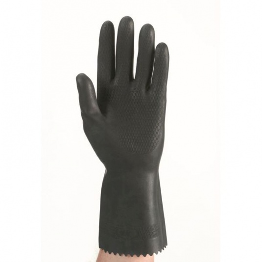 Polyco Maxima Chemical-Resistant Heavy-Duty Rubber Gloves 514