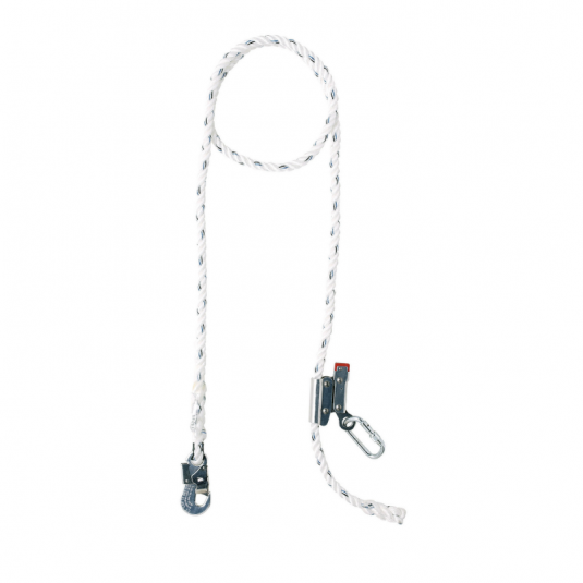 Honeywell MC03 2m Polyamide Positioning Lanyard with Carabiner and Hook
