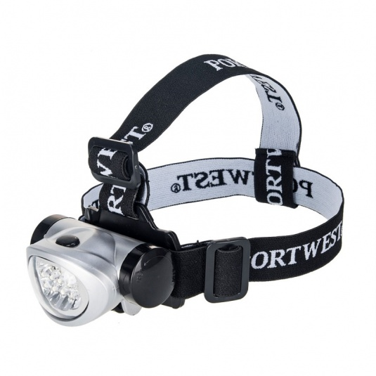 Portwest PA50 LED Silver Head Light