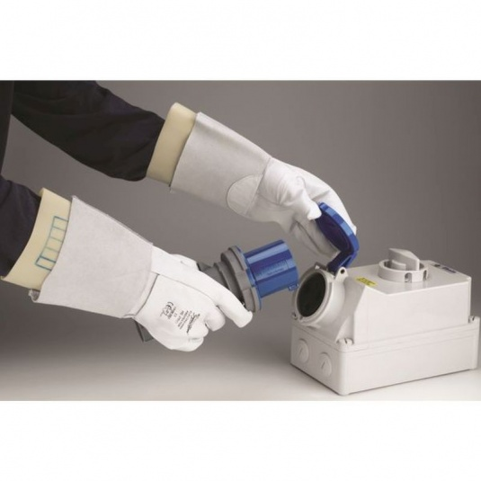 Polyco Electricians Leather Protector Overgloves RE-PRO