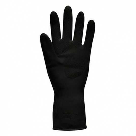 Polyco Jet Black Chemical Resistant Gloves 52