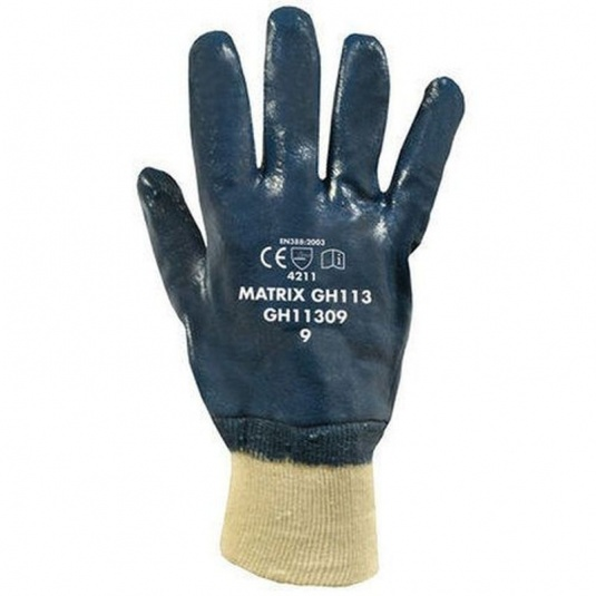 Polyco Matrix GH113 Nitrile-Coated Safety Gloves