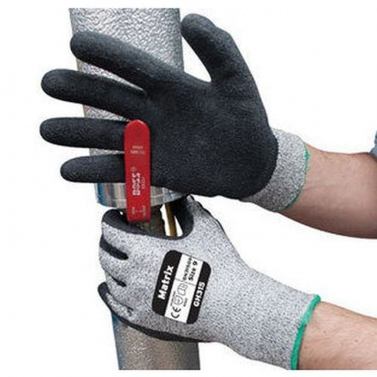 Polyco Matrix GH315 Cut-Resistant PU Palm-Coated Gloves