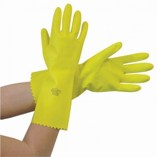Polyco Optima Chemical-Resistant Natural Rubber Gloves