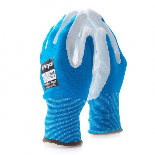Polyco Polyflex Aqua PU-Coated Work Gloves 183