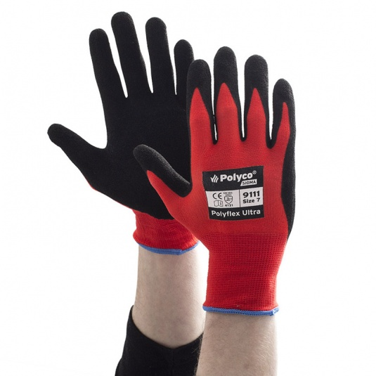 Polyco Polyflex Ultra Abrasion-Resistant Safety Gloves