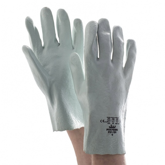 Polyco Polygen Chemical-Resistant PVC-Coated Mechanics Gloves