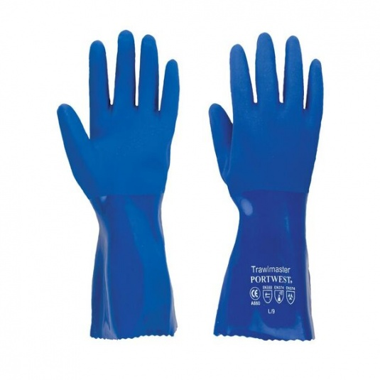 Portwest Trawlmaster 30cm Chemical-Resistant Gauntlets A880