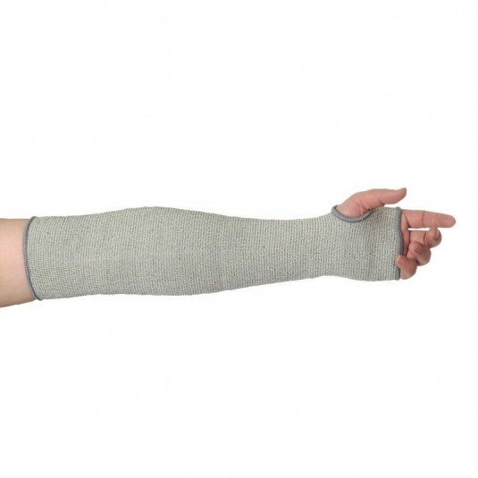 Portwest A690GR 45cm Cut-Resistant HPPE Grey Sleeve