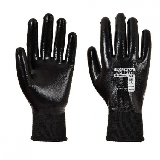 Portwest All-Flex Nitrile Foam-Coated Grip Gloves A315