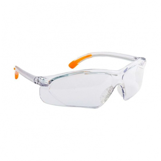 Portwest Fossa Clear Lens Safety Glasses PW15CLR