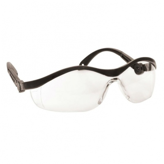 Portwest Safeguard Clear Lens Safety Glasses PW35CLR