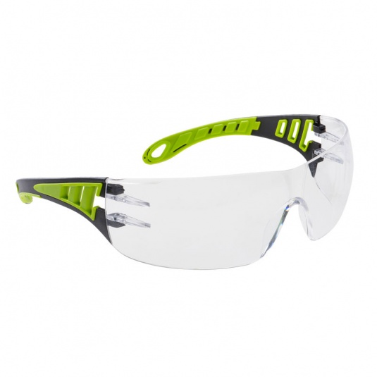 Portwest Tech Look Anti-Fog Clear Safety Glasses PS12CLR
