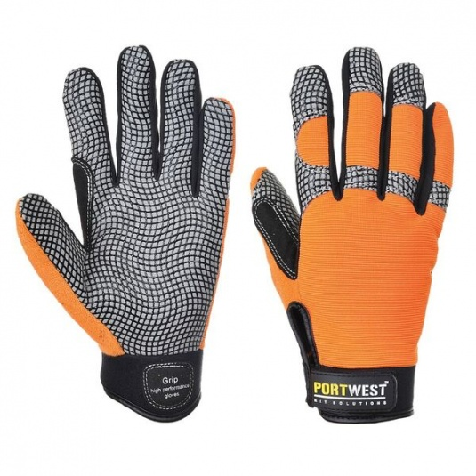 Portwest A735  Leather Grip Gloves