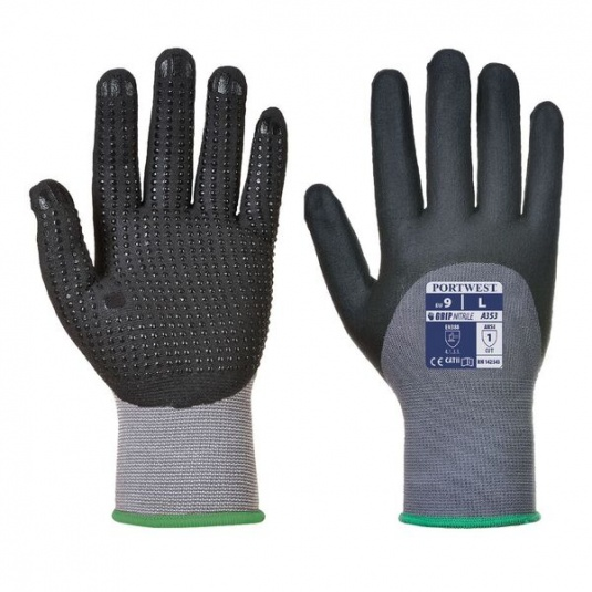 Portwest DermiFlex A353 Micro Dot Palm Grip Gloves