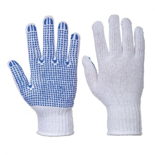 Portwest Fortis A111 Lightweight PVC Dot Coated Gloves